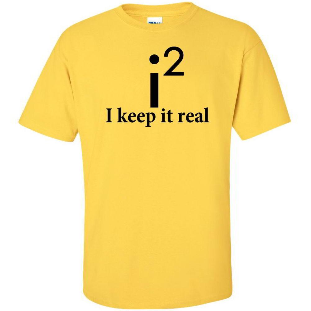 I Keep It Real Funny Math Jokes School Tees Nerdy Geek