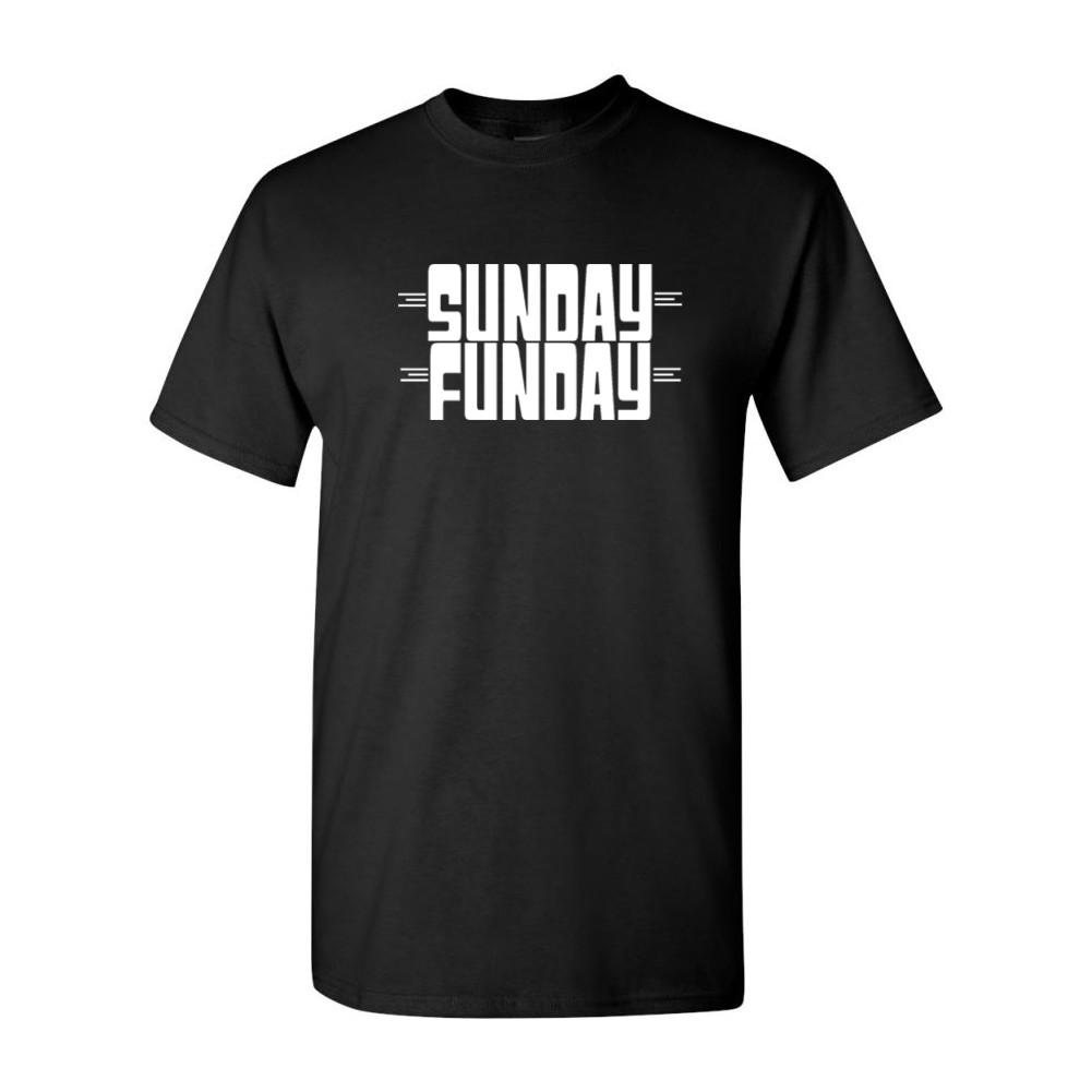 Sunday Funday Funny Guys Drinking Tees Hilarious Party Mens T ...