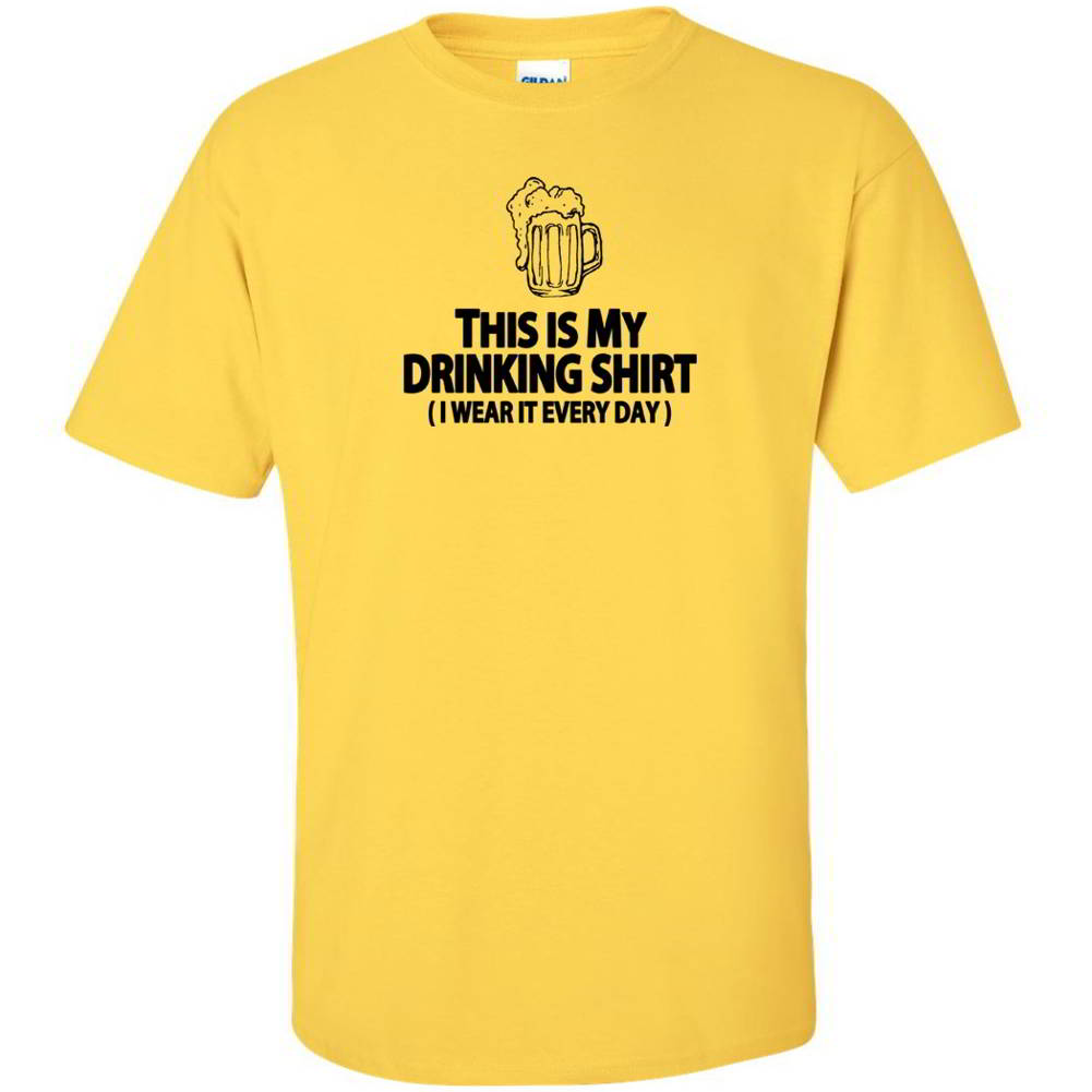 This Is My Drinking Shirt Funny Tees Hilarious Bachelor