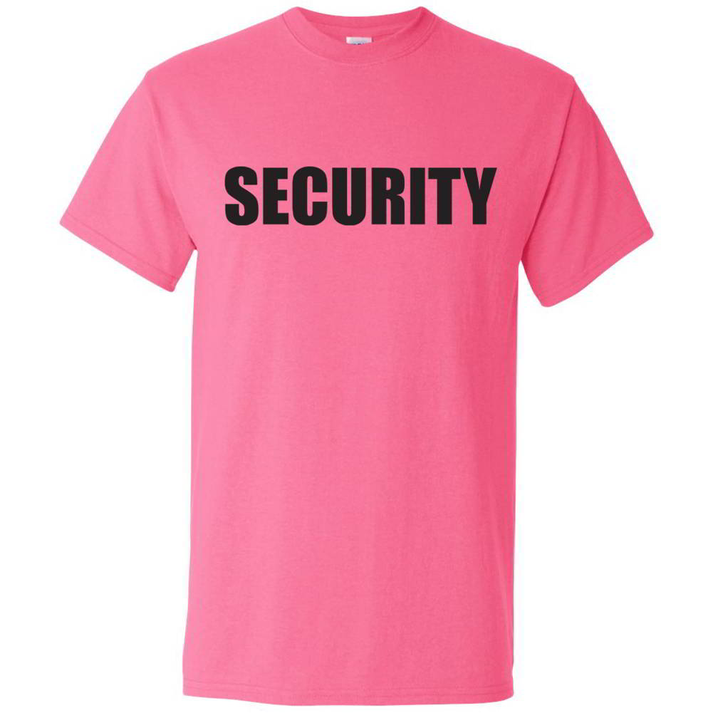 Security Tees Bouncer Party Concert Event Staff Mens Novelty T ...