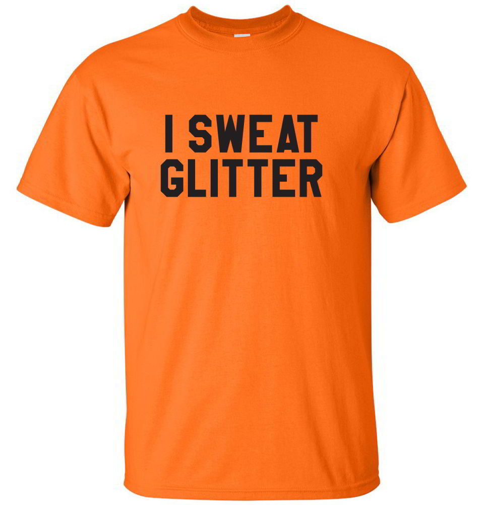 I sweat glitter workout fitness gifts funny diva gym tees for How to not sweat through shirts